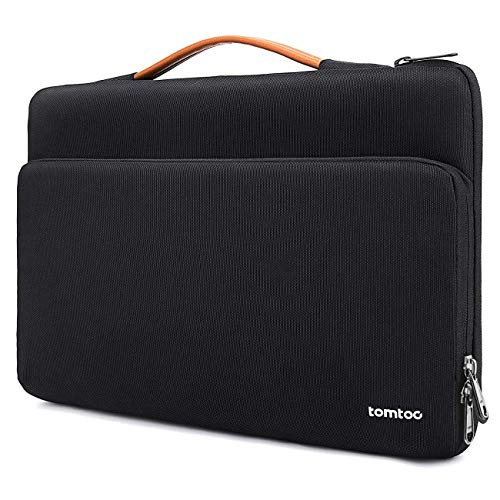 tomtoc 360 Protective Laptop Carrying Case for 15.6 Inch Acer Aspire 5 Slim Laptop, 15.6 HP Pavilion, 15.6 Inch ASUS ROG Zephyrus, 2020 New Dell XPS 17, More Dell Asus ThinkPad 15 Inch Chromebook