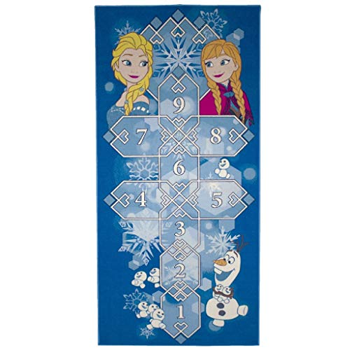 Associated Weavers Kids Corner - 632403 - Tapis de Sol Disney - La Reine des neiges marelle