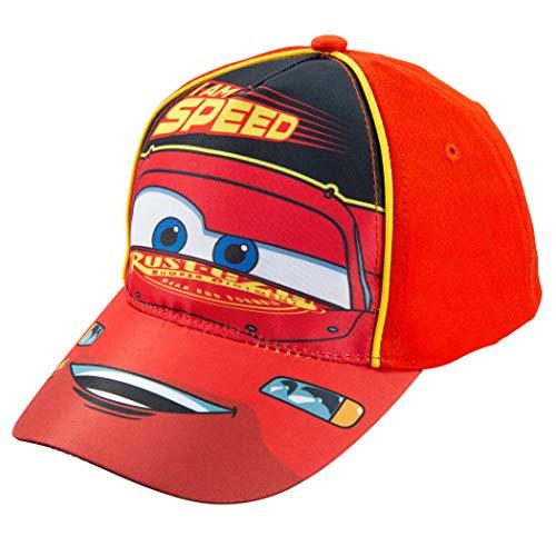 Disney Pixar Toddler Boys Cars Lightning McQueen Baseball Cap Age 2-5 Red
