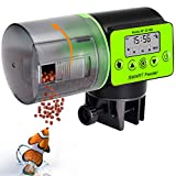 KINOEE Automatic Fish Feeder - Digital Auto Fish Feeder, Aquarium Tank Timer Feeder Vacation & Weekend 2 Fish...