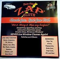 Zap Cloth - Streak Free Spot Free - 3 Cloths 【Creative Arts】 [並行輸入品]