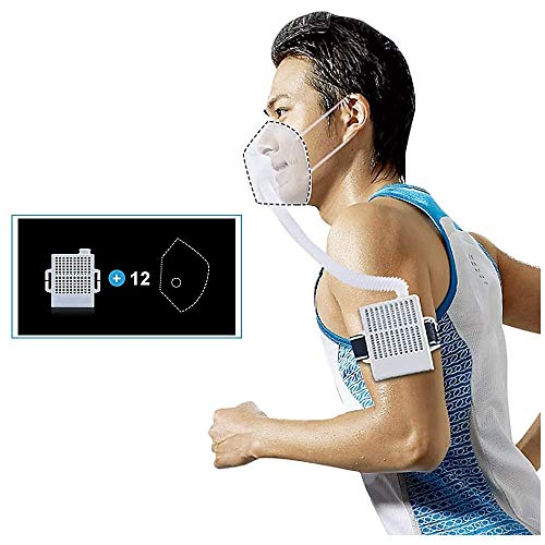 Great Deal! 4WDKING Rechargeable Electrical Air Purifying Respirator, Reusable Portable Air Purifier...