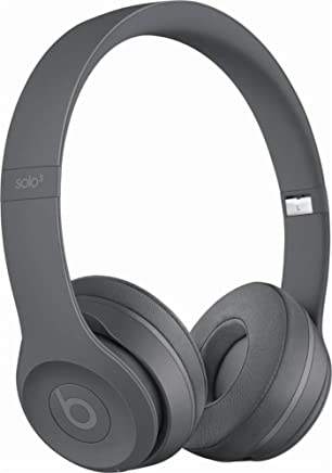 Beats Solo3 Wireless On-Ear Headphones - Neighborhood Collection - Asphalt Gray (Refurbished)