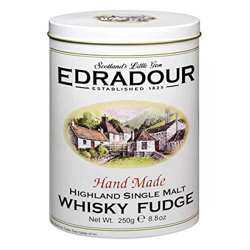Gardiner's of Scotland Gardiner´s Whisky Fudge Edradour – Handgemachte weiche WhiskyKaramellBonbons, 250 gramm
