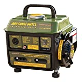 Buffalo Tools GEN1000 1000 Watt 2 Cycle Generator, Green