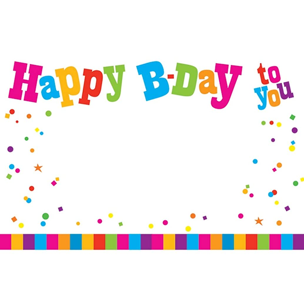 Happy Birthday to You Enclosure Cards/Gift Tags - 3 1/2 x 2 1/4in. (50)