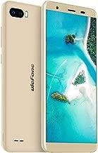 """Ulefone S1 Pro 4G Smartphone Sbloccato, 5.5""""Schermo intero 18:9, Cellulari Offerte Android 8.1 + 16GB ROM, 13MP+ 5MP+ 5MP, 3000mAh, Face ID/WiFi/Bluetooth/GPS-Oro"""