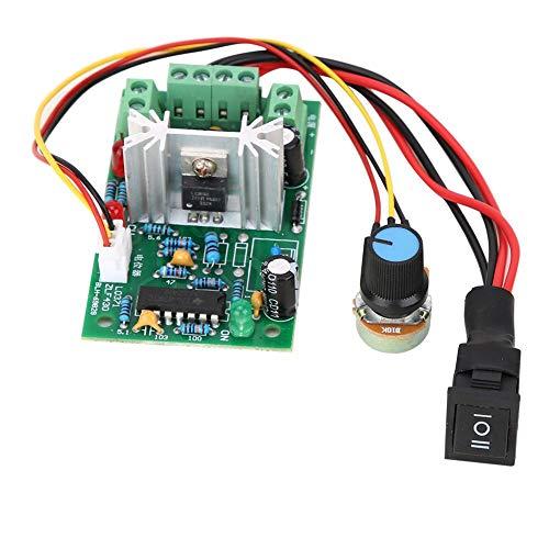 Motor Rate Controller, 5-30 V DC 6 A / 150 W PWM-Drehzahlregelung Einstellbare DC-Bürste Motor Rate Controller-Umkehrschalter Stabil Zuverlässig