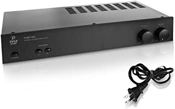 Pyle Digital Stereo Power Amplifier- Dual Channel Amp Design, Built-in Circuitry Protection, Stereo/Bridged Mode Selector,...
