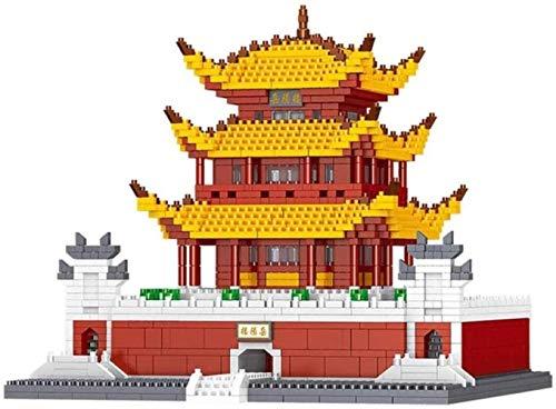 SLL Juguetes Maquetas, Micro Diamond Building Blocks, Famoso Chino Antiguo Arquitectura Yueyang Torre Kit Modelo for la Navidad de los niños