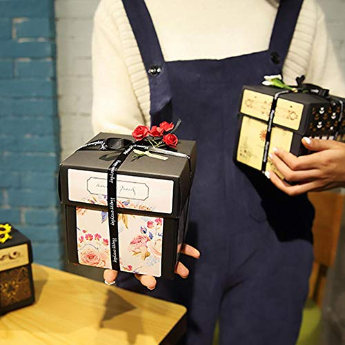 Funnyfeng Verrassing knutselen album hand knutselen fotoalbum hand album voor verlovingen, huwelijk, verjaardag, jubileum