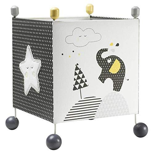 Lampe de chevet cube Babyfan - Sauthon