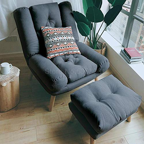 Best Price Mattress,,Bed Futon Sofa for Adult and Kids Folding Mattress,Lazy Sofa, Single Leisure Folding Sofa, Lunch Break, backrest Lift Chair-Dark Grey