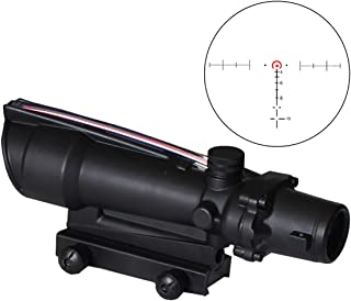 Image of SPINA OPTICS Hunting Sight 3.5X35 Real Fiber Scope Red Green Horseshoe Reticle Tactical Optical Sights for Cal .223 .308