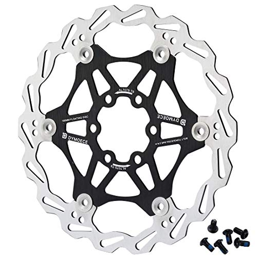 D Dymoece Bicycle Floating Disc Brake Rotor with 6 Bolts for MTB Mountain Road Bike