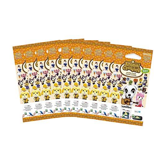 10x Amiibo Karten 3 Stück Animal Crossing Happy Home Designer Vol. 2