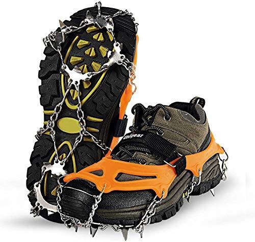 Unigear Steigeisen für Bergschuh...