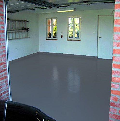 webkaufhaus24 10kg RAL 7015 Schiefergrau grau Garagenfarbe seidenmatt Parkplatzfarbe Bodenfarbe Asphaltfarbe