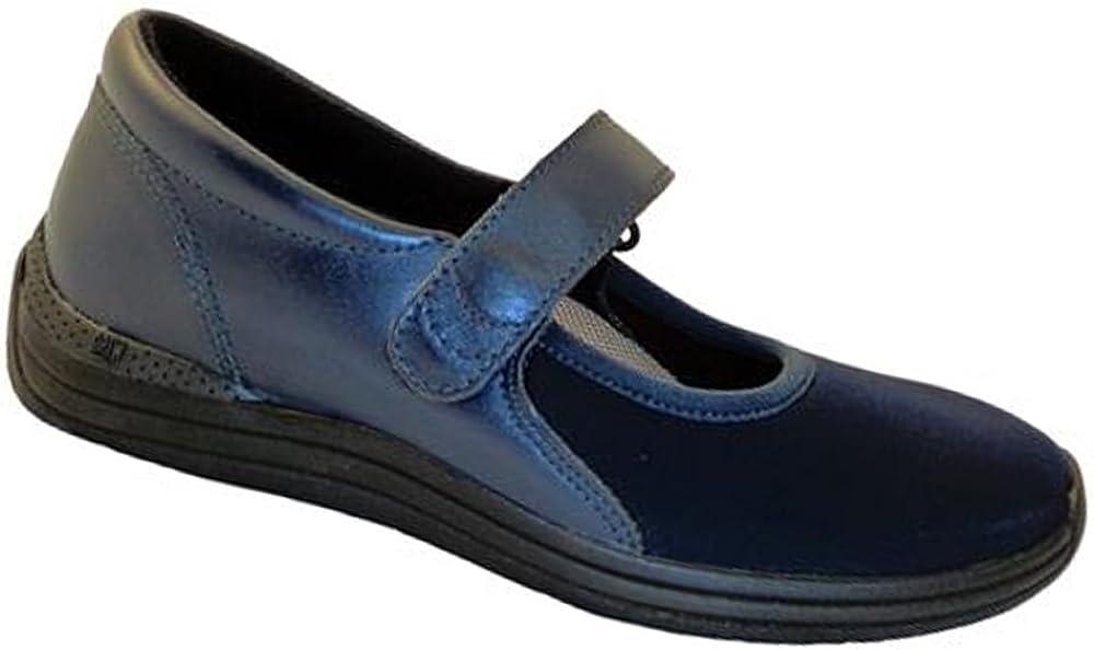 Drew Shoes Magnolia 14326 Women's Max 81% OFF Leathe Albuquerque Mall Navy Shoe: Casual Combo