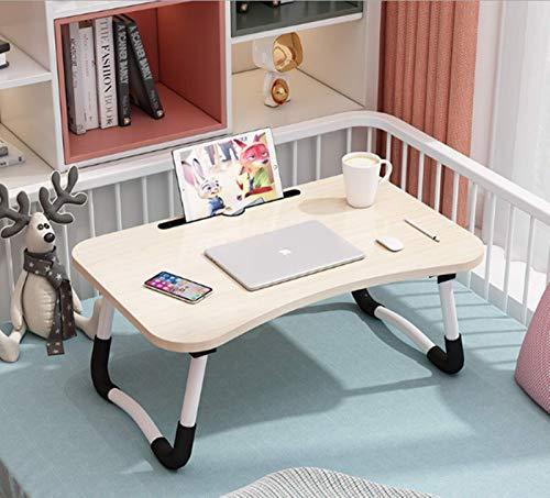 Mesa de cama para ordenador portátil, bandeja de desayuno con patas plegables, escritorio portátil, soporte de lectura para sofá, suelo infantil, tamaño estándar