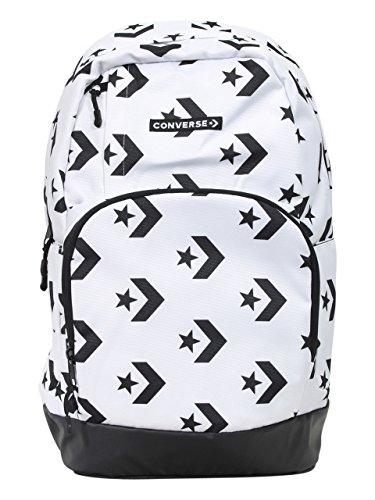Converse Boy's Star Chevron White/Black Backpack
