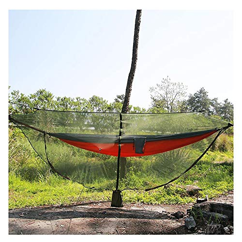 YOUDAN Outdoor Mosquito Net Cover 360 Degree All-round Hammock Net Cover Ultralight Portable Hammock Mosquito Net 330150cm Ground Nail Wind Rope Universal Nylon Camping Hammock Net Cover,A,330 * 150