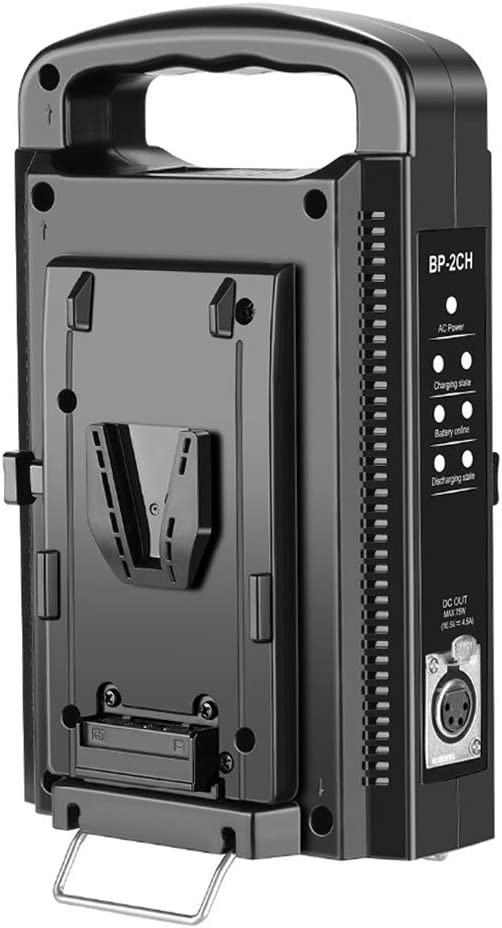 Fomito V-Mount Battery Charger Dual Channel low-pricing for 14.4V All Baltimore Mall 14.8V