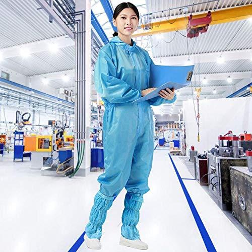 Protection globale combinaison de protection anti-statique réutilisable anti-poussière robe de protection combinaison anti-statique anti-poussière avec capuche-L