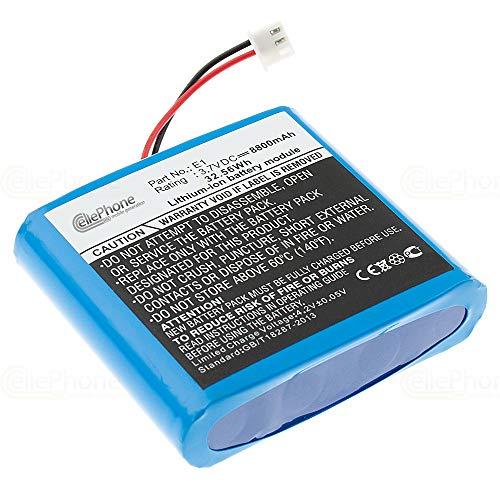 cellePhone Akku Li-Ion kompatibel mit Pure Evoke Flow/Mio / 1S / 2S / Sensia/Verona (Ersatz für ChargePAK E1)