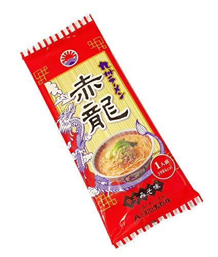 ピリ辛味噌とんこつ熊本 赤龍ラーメン 1人前 ノンフライ麺