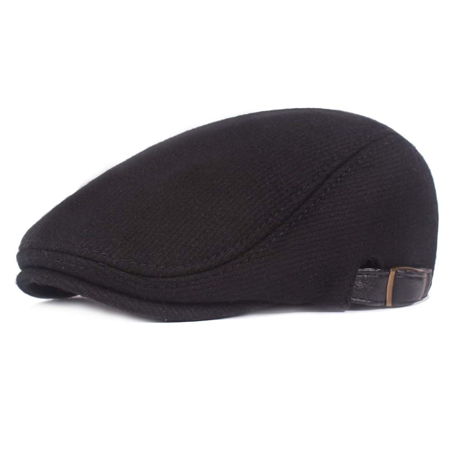 Fasbys Men Classic Flat Cap Adjustable Newsboy Hat Retro Beret Hat