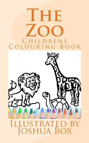 The Zoo: Children's Colouring Book