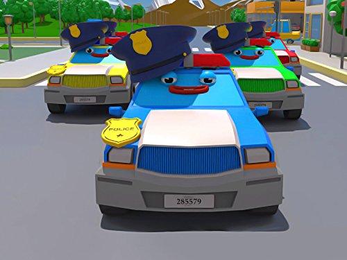 Polizeiautos - Ablösung der Retter