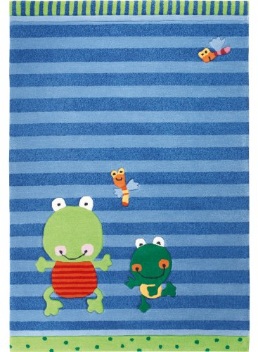 Sigikid Kinderteppich Susi Sumpfhose | blau | 90 x 160 cm