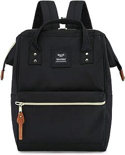Travel School Backpack with USB Charging Port 15.6 Inch Doctor Work Bag for Women&Men College Students(H900d-L SB Black)