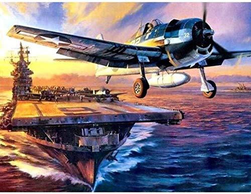 Yzqxiongtu Vliegtuig Militaire puzzel van 1000 stukjes, puzzel voor volwassenen, houten landschapspuzzel, casual puzzels voor tieners en verjaardagscadeautjes voor kinderen