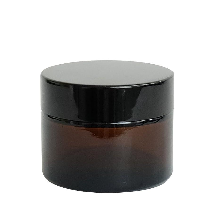粘着性故意のスキルease 遮光ジャー 茶色 50g用×30個