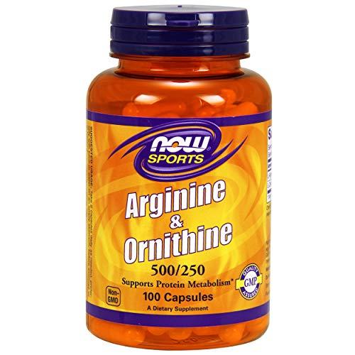 Now Foods Arginine/Ornithine Standard, 100 Kapseln