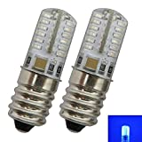 2x Stk. E14 LED Lampe 1,5/2,0 Watt blau/Blaulicht für den Kühlschränke/Lampen uvm....