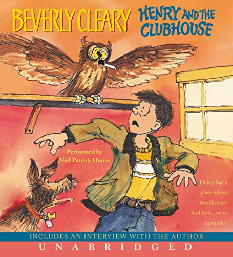 Henry and the Clubhouse audiobook cover art