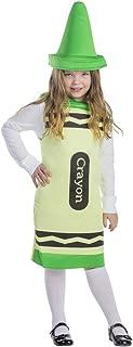 Green Crayon Costume