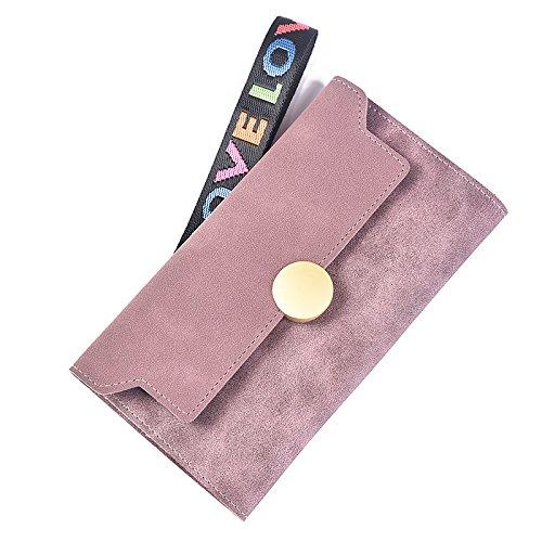 KUOZEN Billeteras Mujer PequeñAs Cartera Mujer PequeñA Monederos para Mujer Señoras monederos Monedero Bolso para Mujer Bolso de Mano para Mujer Purple