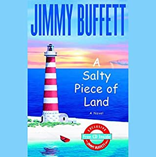 A Salty Piece of Land audiobook cover art