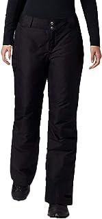 Columbia Womens Arctic Trip Omni-Heat Snow Pant, Short Length, Black
