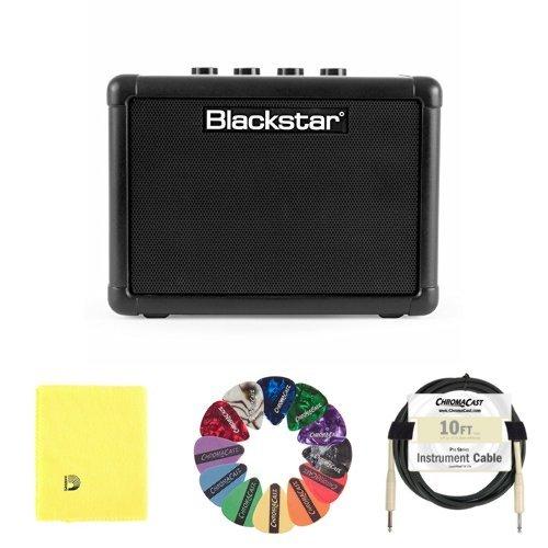 blackstar guitar amplifiers Blackstar FLY3 Battery Powered Guitar Amplifier, 3W bundle