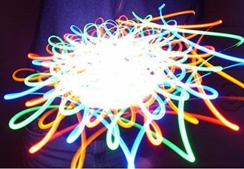 Rob's Super Happy Fun Store Colorburst - Orbital Rave Light Toy - LED Orbit Spinning Light Show