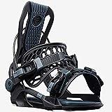Flow Men's Active Outdoor Winter Fusion Fenix Snowboard Bindings, Black, Large