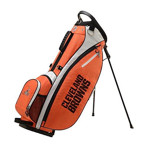 Wilson NFL Golf Bag - Carry, Cleveland, Orange, 2020 Model