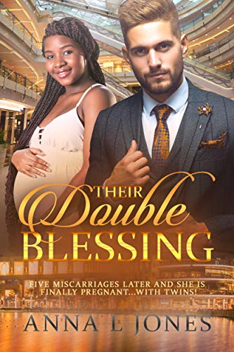 Their Double Blessing: BWWM, Twins, Pregnancy, Clean, Billionaire Romance (BWWM Romance Book 1)