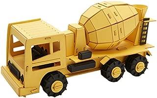 CARS CRAFT PAPER MODEL: Mixer Truck